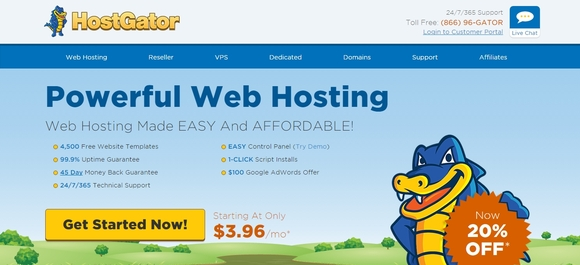 Hostgator - web hosting services