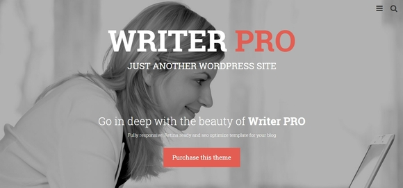 WriterPRO - wordpress themes