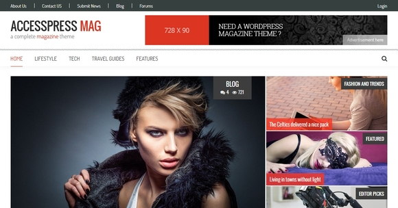 Accesspress Mag - free wordpress theme