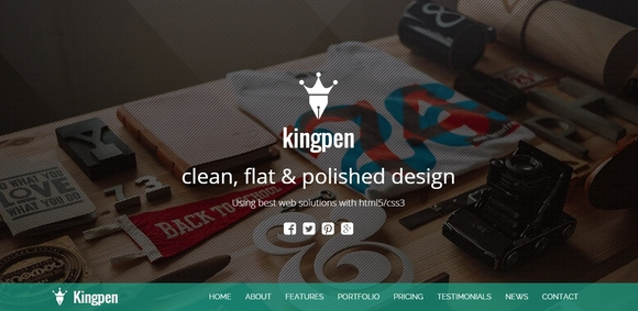 KingPen - premium wordpress themes