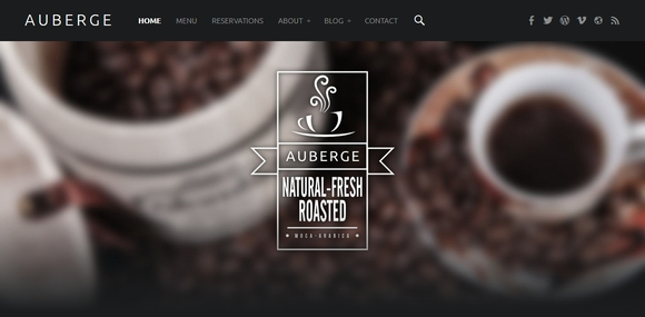 Auberge - free wordpress theme