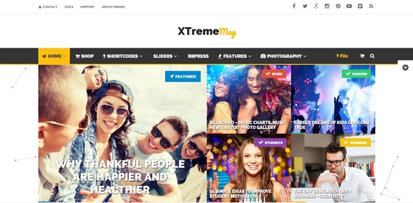 Keid - wordpress themes