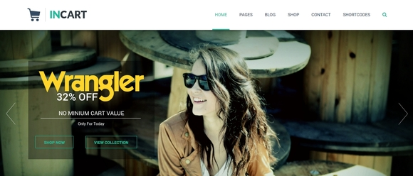 Incart Lite - best free wordpress themes