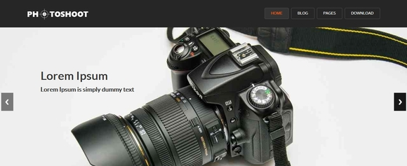 Photoshoot - best free wordpress themes
