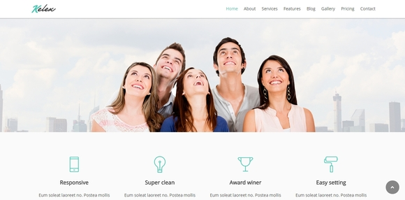 Kelex - best wordpress themes