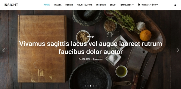 Insight - best wordpress themes