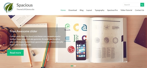 Spacious - free wordpress themes