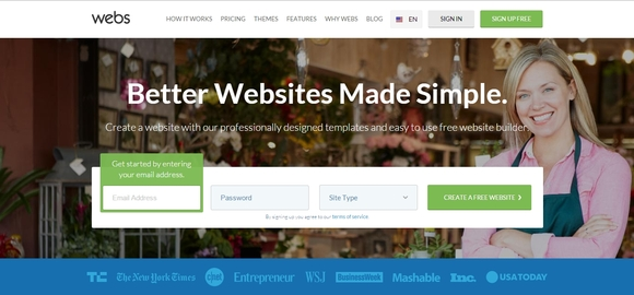 Webs - website builder