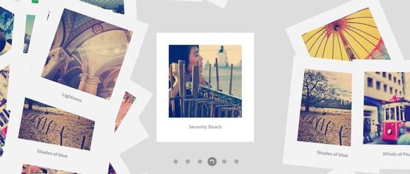 Scattered Polaroid gallery - jquery plugins