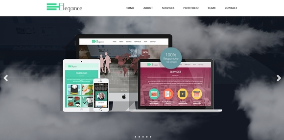 Elegance - free website templates 2015