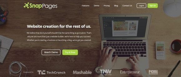 Snappages - free online website builder