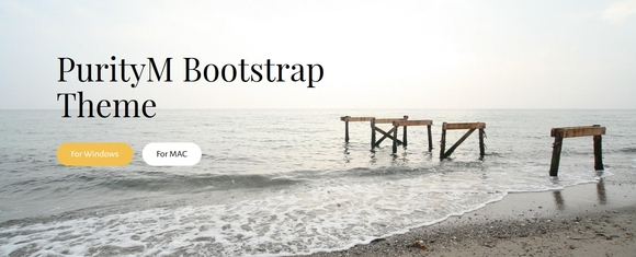 bootstrap 4 theme