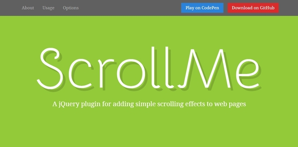 ScrollMe - jquery parallax scrolling 2015