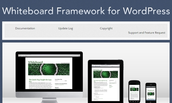 Whiteboard Framework - wordpress framework 2015