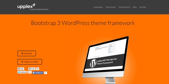 Bootstrap 3 WordPress theme framework - wordpress frameworks