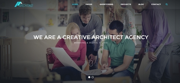 Archtiko - website templates