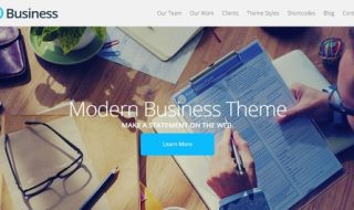 business wordpress themes 2015