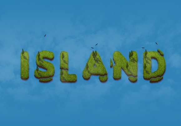 create an iceland text effect - best free photoshop tutorials 2015