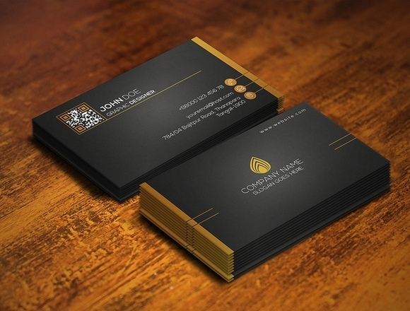 Fav Business Card - free business card templates