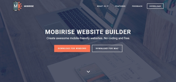 mobirise website maker