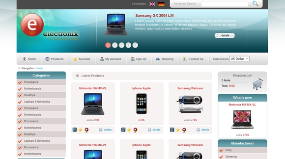15 Best Free Ecommerce Website Templates Designpixy
