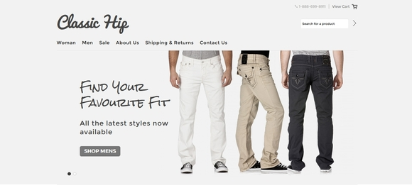 free ecommerce website templates