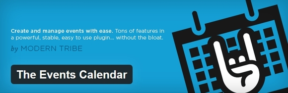 the event calendar - wordpress calendar plugins