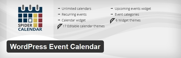 WordPress Event Calendar - wordpress event calendar