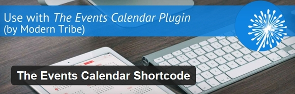 The Events Calendar Shortcode - wordpress calendar plugin