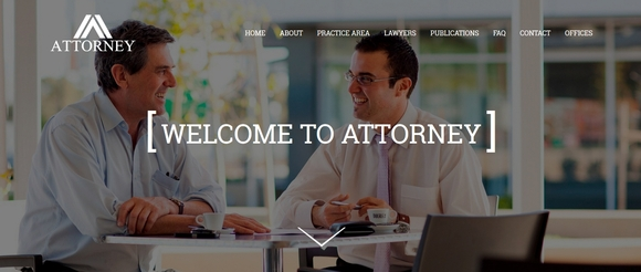 Attorney - bootstrap templates