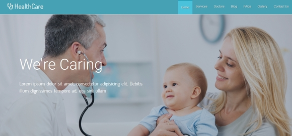 Healthcare - free website templates 2016