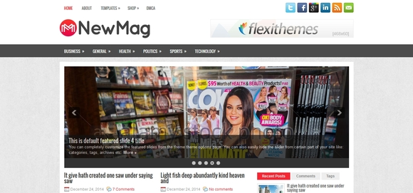 NewMag - responsive wordpress theme
