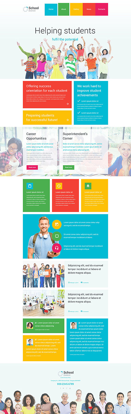 Education Organization WordPress Theme