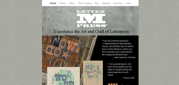 LetterMPress - fonts