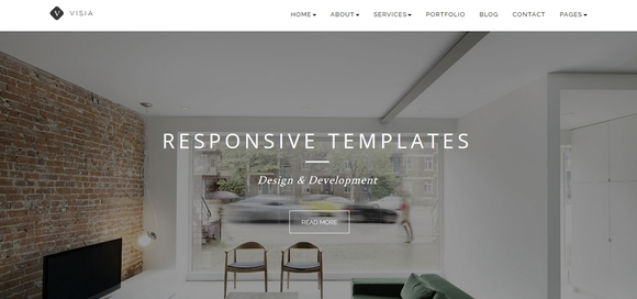 Visia - best bootstrap html5 templates