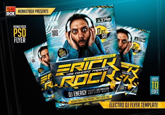 Best Free Psd Flyer Templates   Designpixy