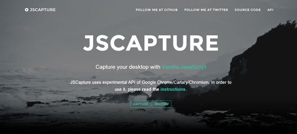JS CAPTURE - web applications