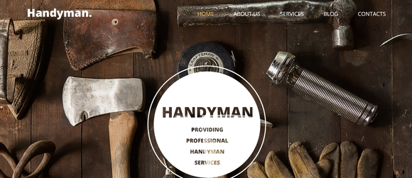 Handyman - portfolio wordpress themes