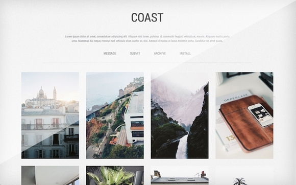 Coast - tumblr website