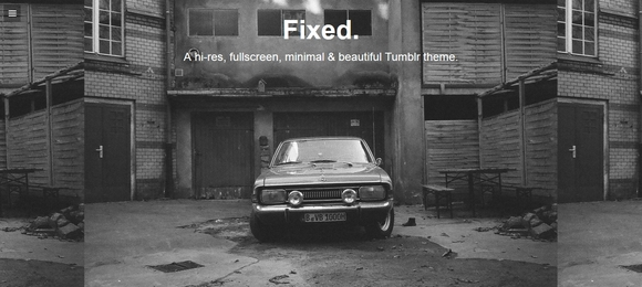 Fixed - tumblr themes free