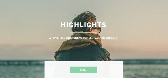 Highlights - best website templates