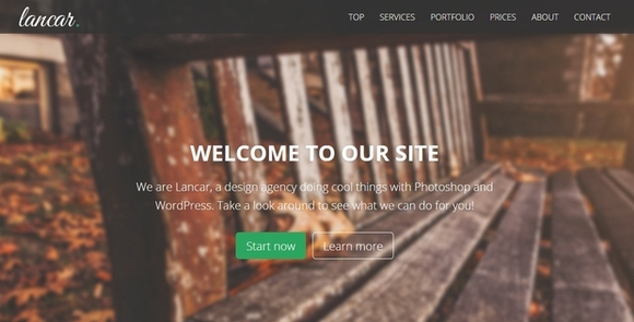 Lancar - best website templates