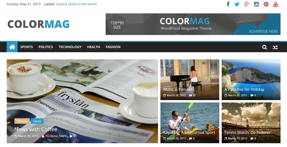 ColorMag - wordpress themes free download