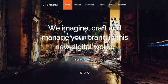 Puremedia - website templates