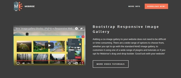 bootstrap image gallary