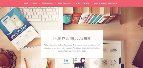 Sela - wordpress theme