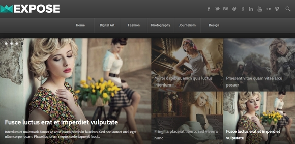 Expose - free blogger templates 2015