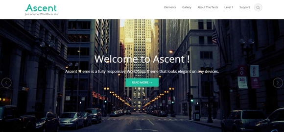 Ascent - free wordpress themes 2015