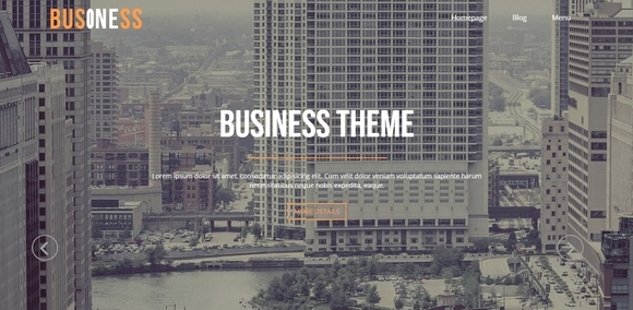 Business Page - free wordpress themes 2015