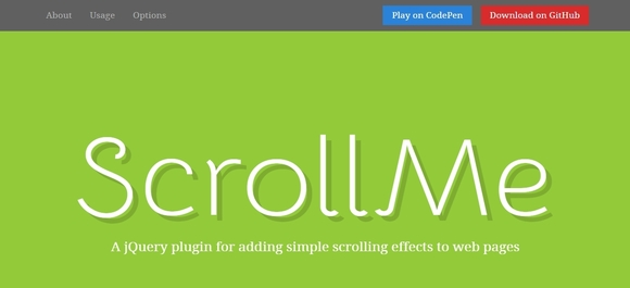 jquery parallax scrolling